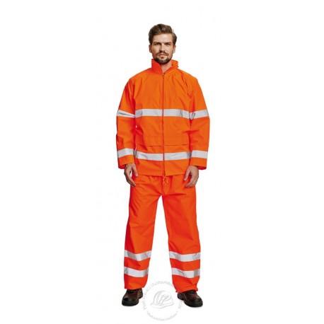 GORDON kabát f esőkabát HiVis narancs