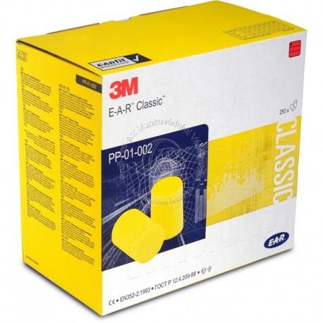 3M EAR CLASSIC PP-01-002 EAR FÜLDUGÓ PILLOWPACK (250 pár/DOBOZ)